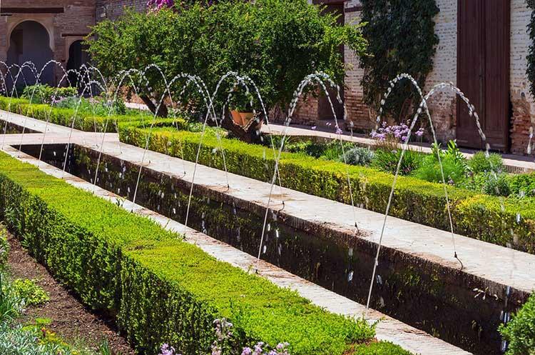 Исламские сады для дизайна