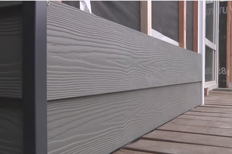 Вид сайдинга - Цементно-волокнистый