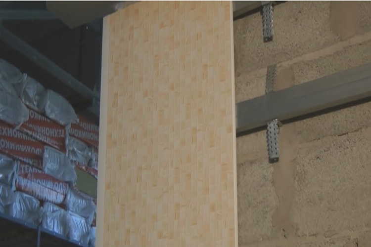 Отделка стен в ванной стеновой панелью