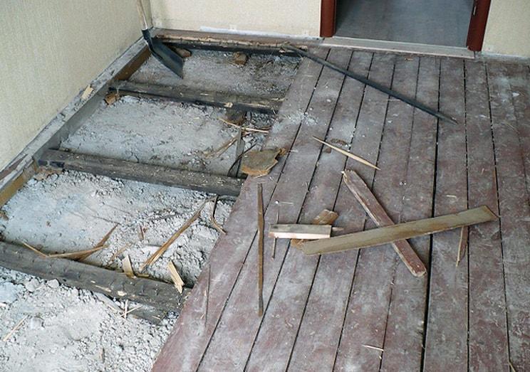 Избавляемся от скрипа половиц самостоятельно Stroyka-Gid.Ru - строительство и ремонт