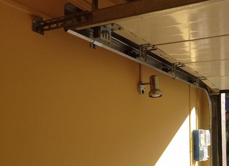 Тип привода гаражных ворот
