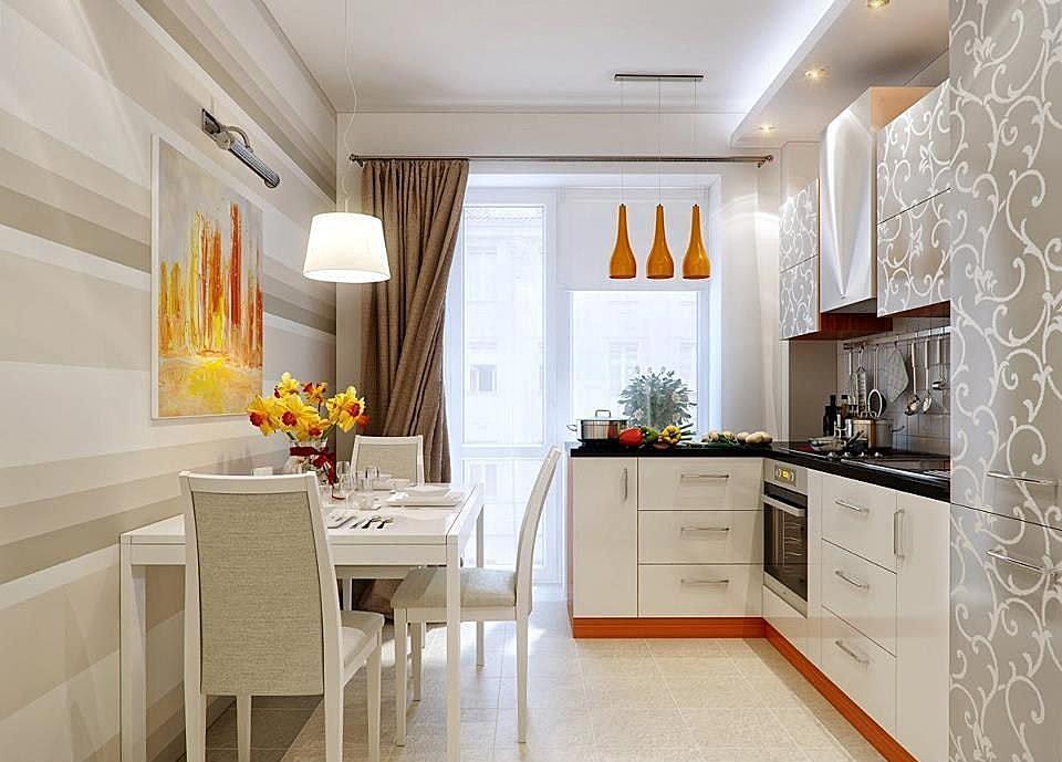 Стены на кухне. Отделка фартука и обеденной зоны
