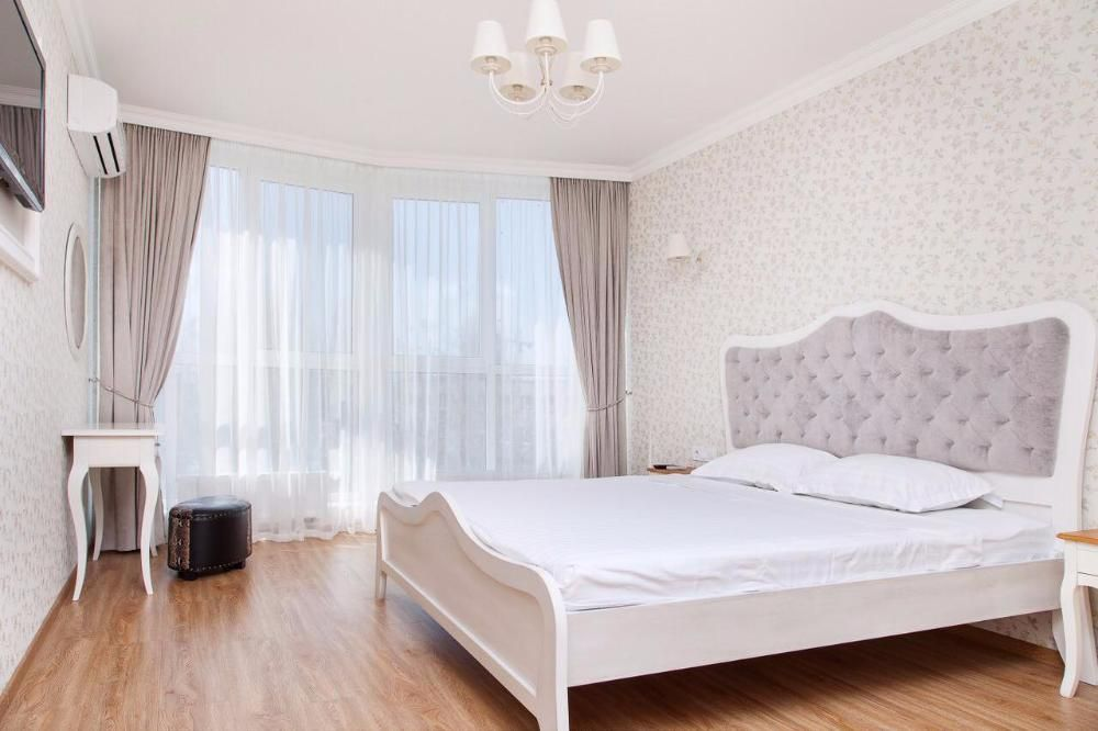 Белые цвета спальни