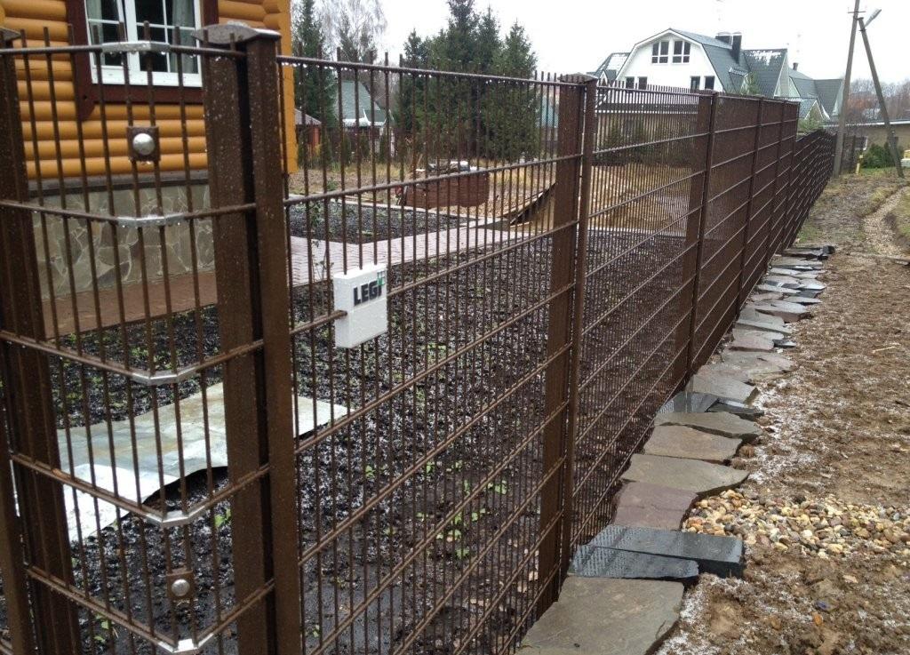 Штампованный забор