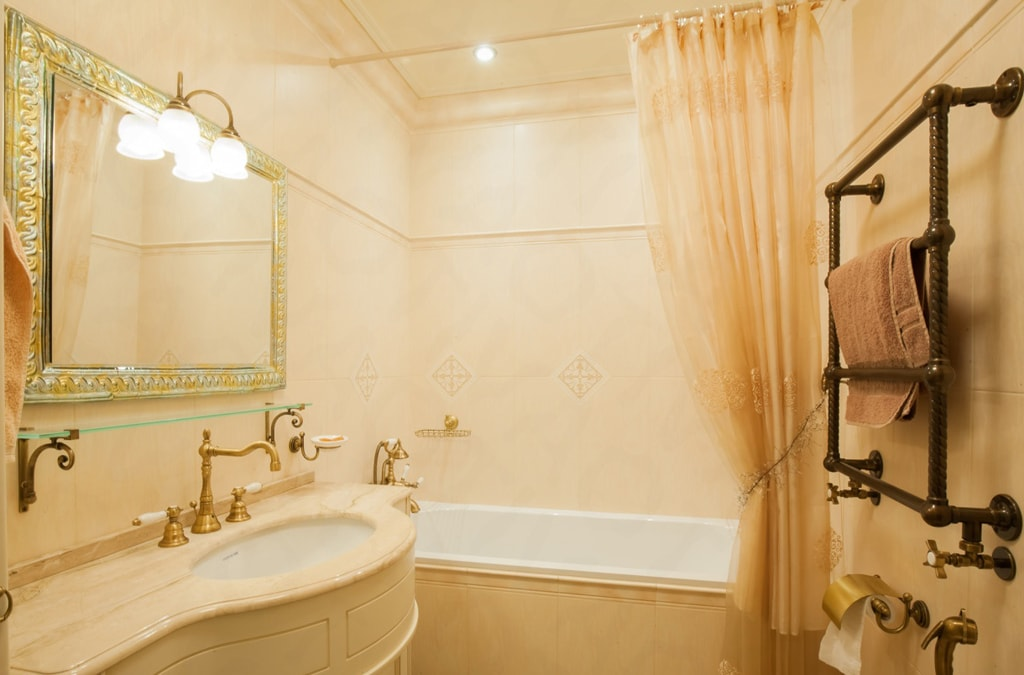 Зеркалов ванную комнату
