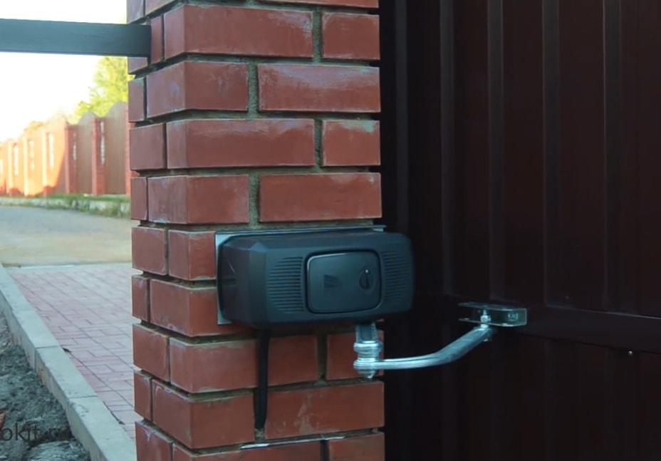 Установка автоматики на распашные ворота
