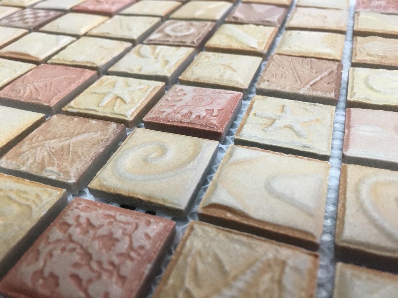 Мозаика из керамики для отделки кухни