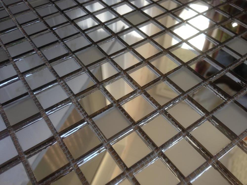 Зеркальная мозаика для кухни