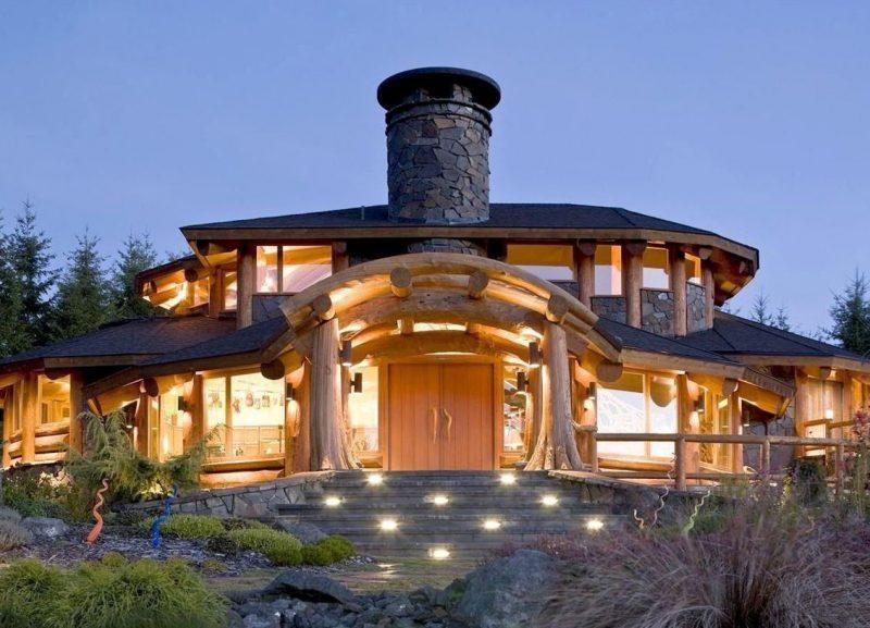 деревянный-дом