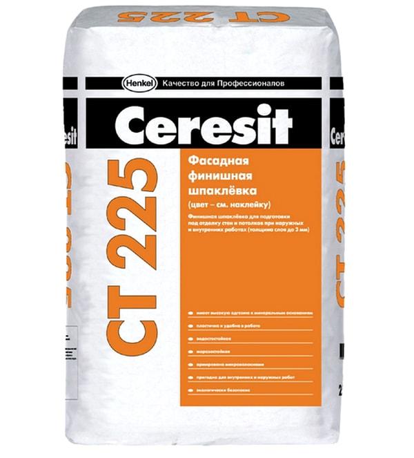 Цементная шпаклевка Ceresit CT 225