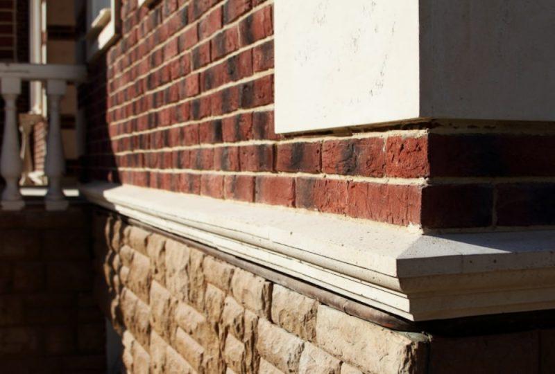 Цокольный отлив из бетона