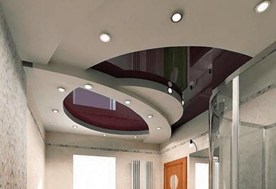 Многоуровненые потолки