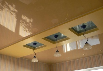 Потолок на кухне