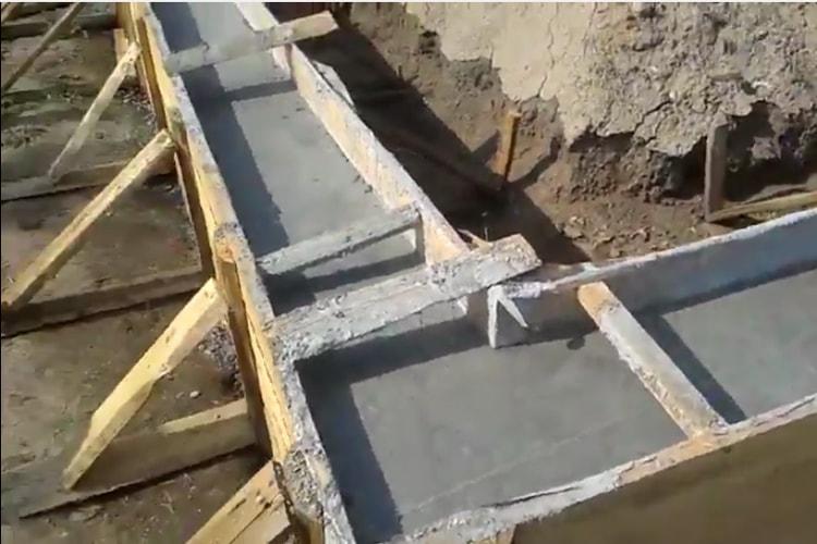 Технология заливки бетона