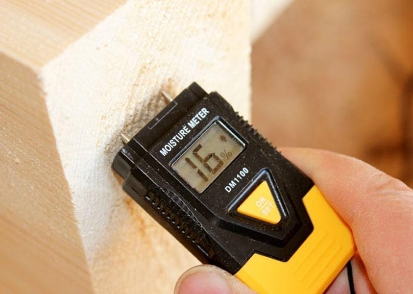 Проверка влажности бруса