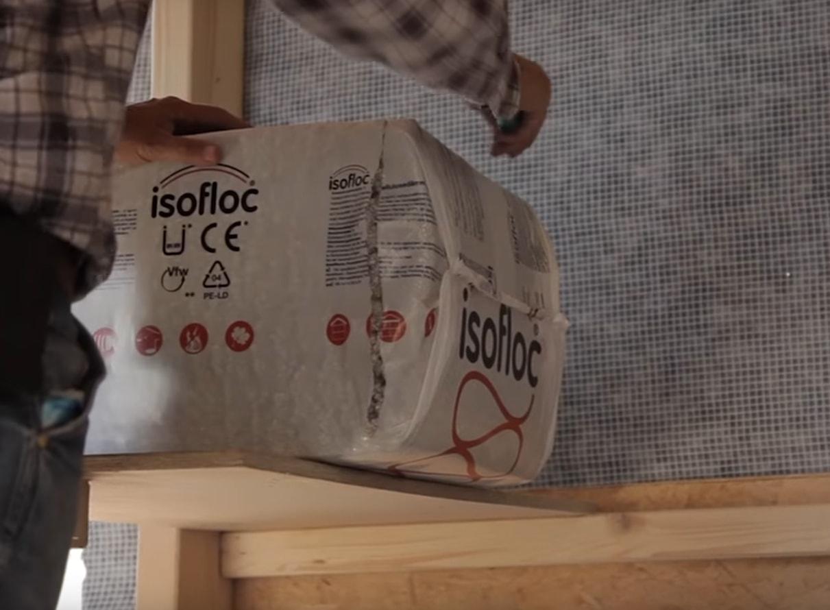 Эковата фирмы Isofloc