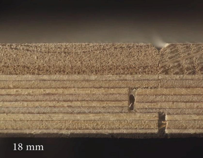 Толщина паркетной доски 18 мм