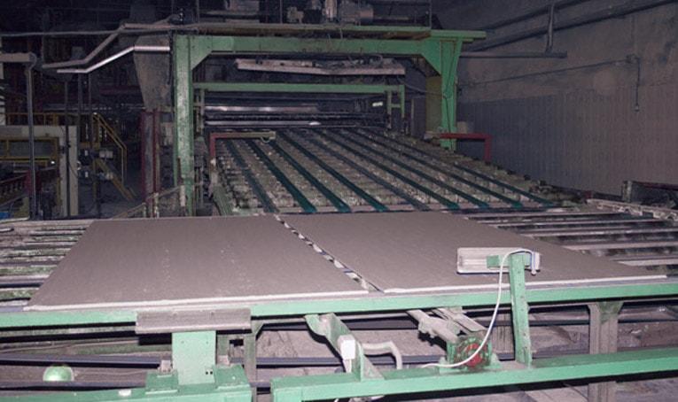 Производство гипсокартона