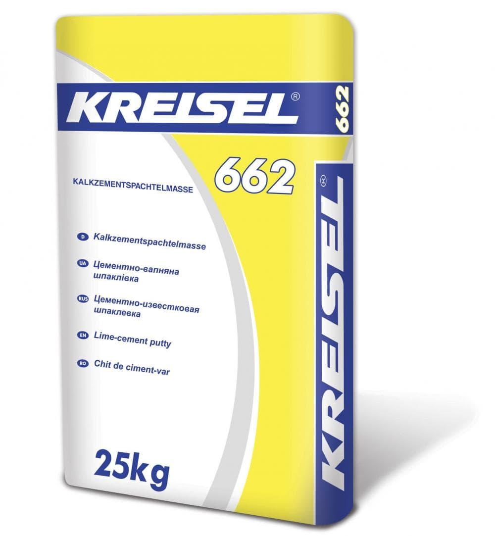 Гипсовая шпаклевка Kreisel 662