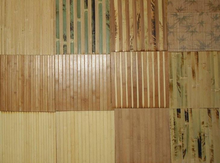 Бамбуковые обои виды