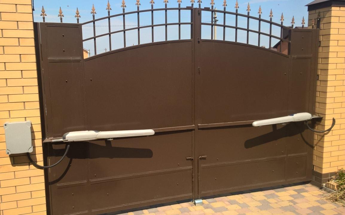 Автоматика линейная для распашных ворот