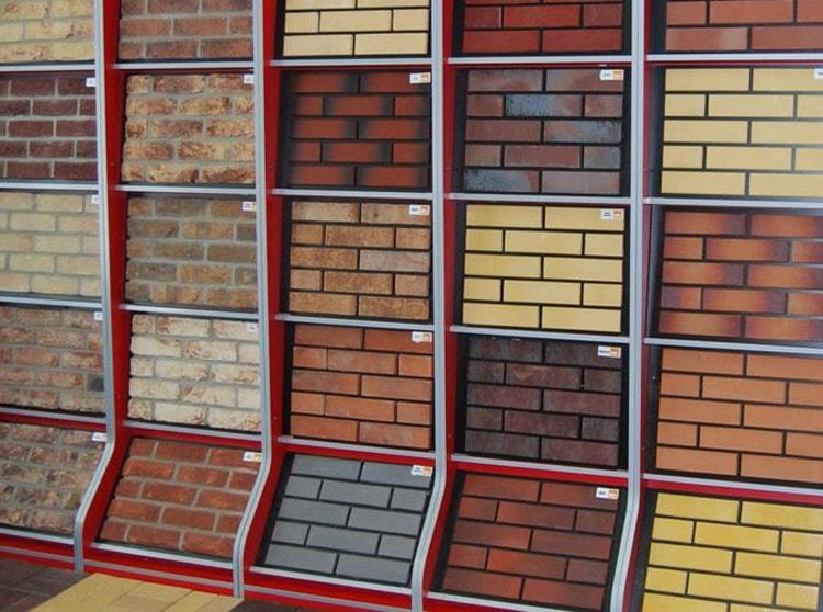 Керамическая плитка для обшивки фасада дома