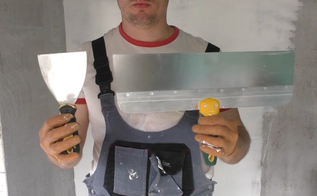 Шпатели для нанесения шпаклевки