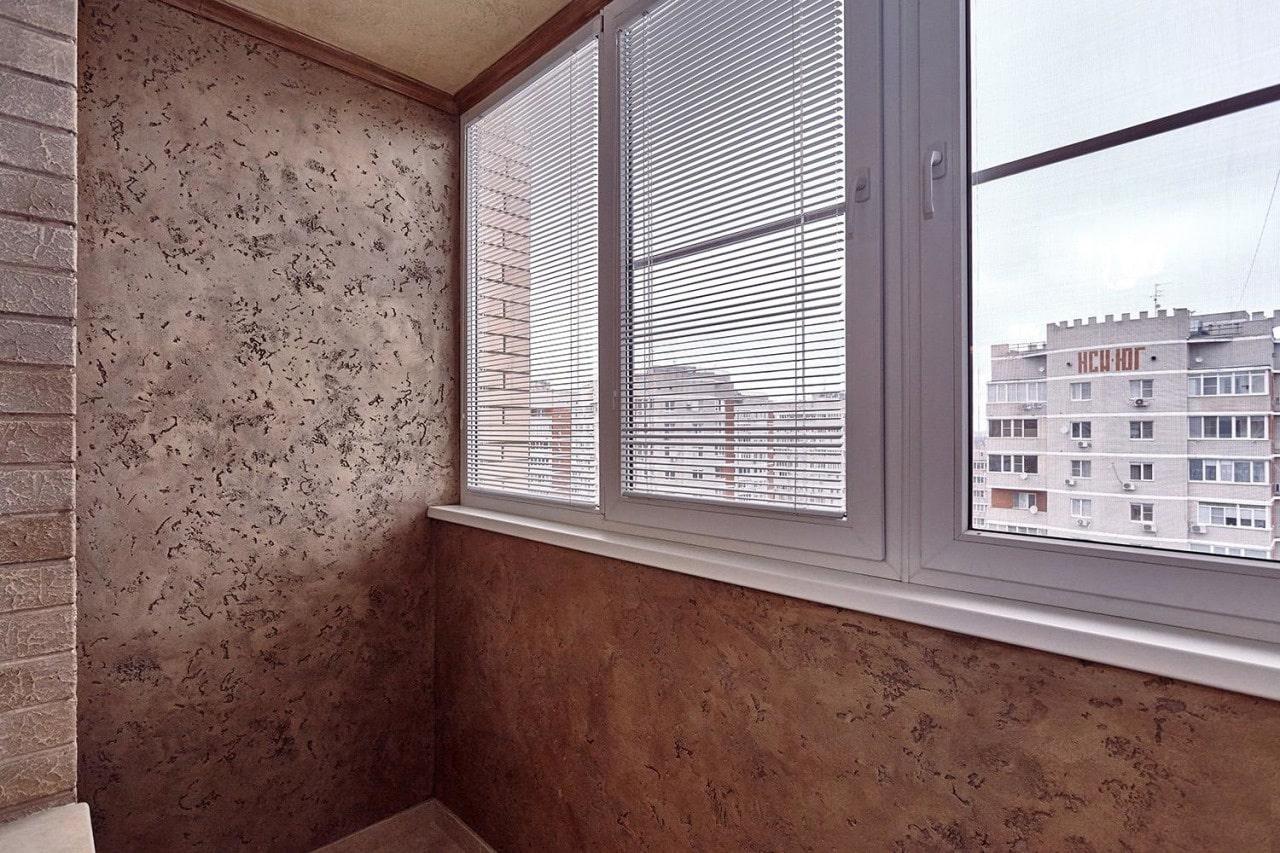 балкон отделка декоративной штукатуркой фото накрасилась женщина напудрилась