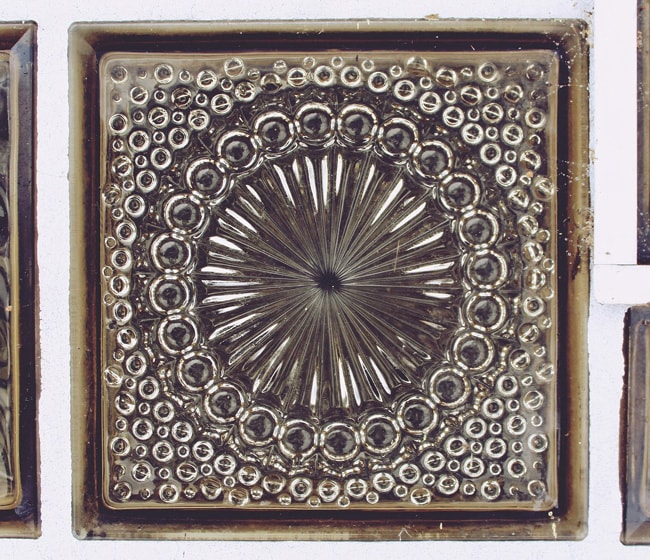 Декоративный стеклоблок