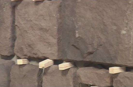 Швы при укладке искусственного камня