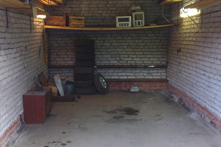 Магистральное отопление гаража