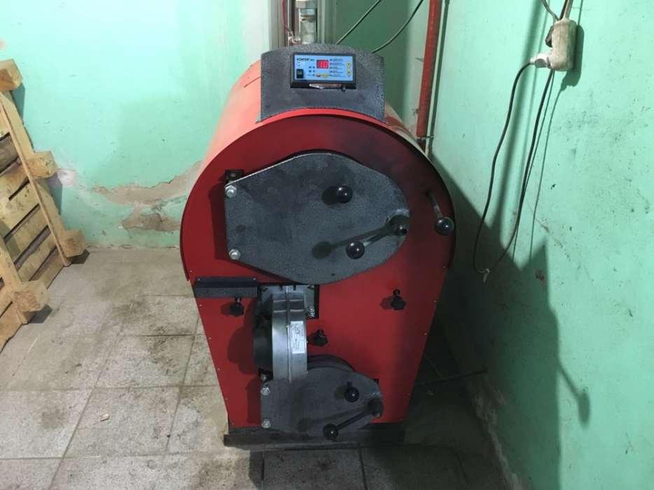 Отопление гаража пиролизным котлом