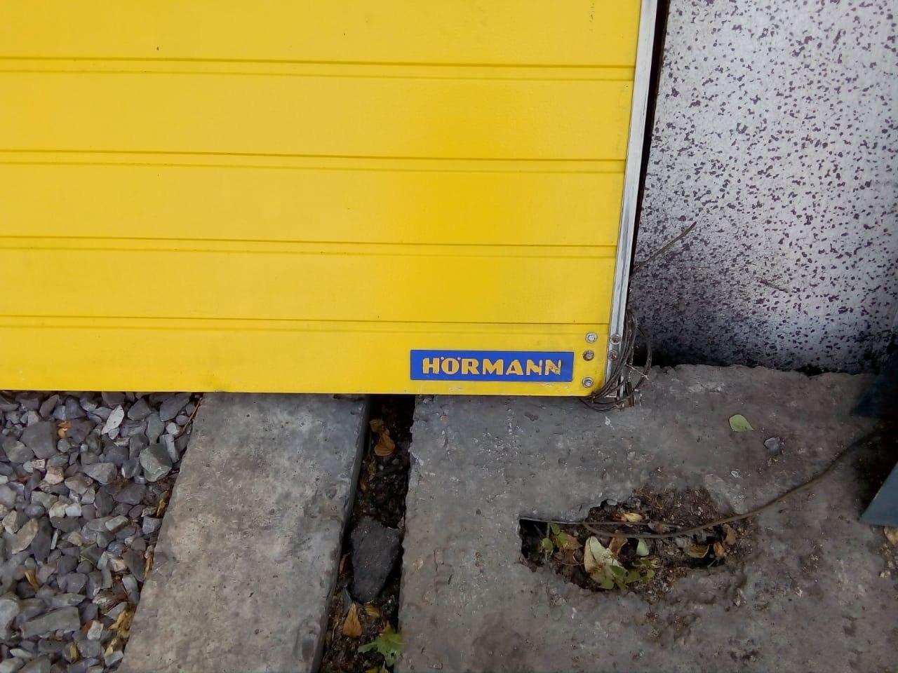 Секционные ворота Hormann