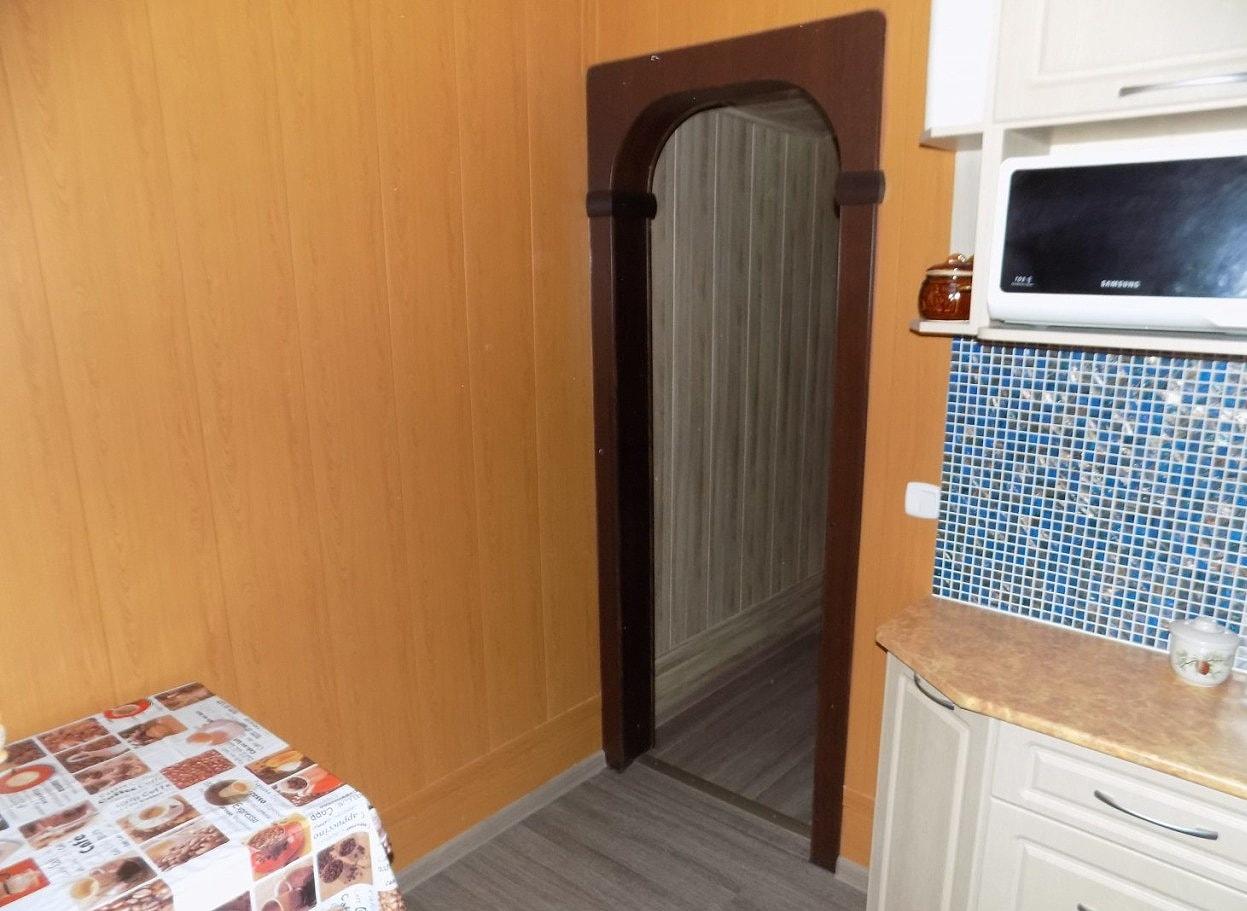МДФ панели на стенах кухни