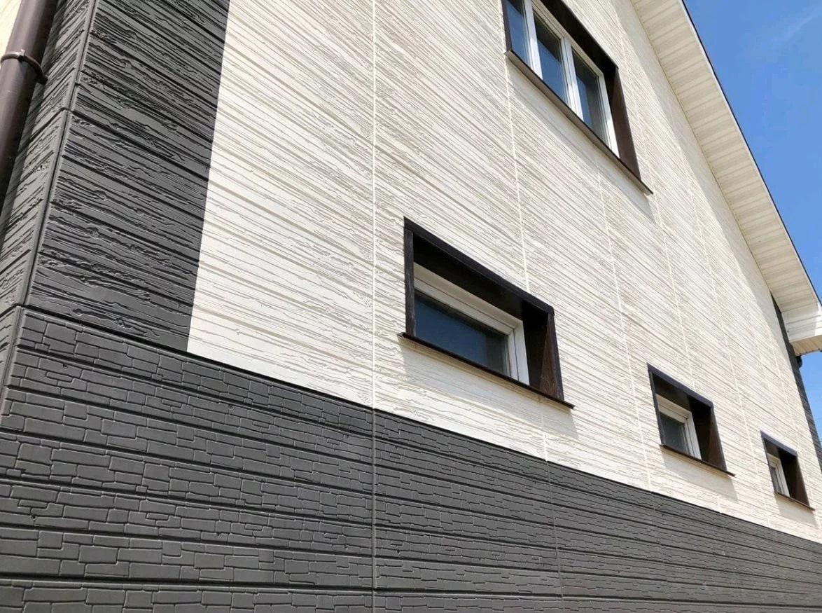 Отделка цоколя фасадными панелями