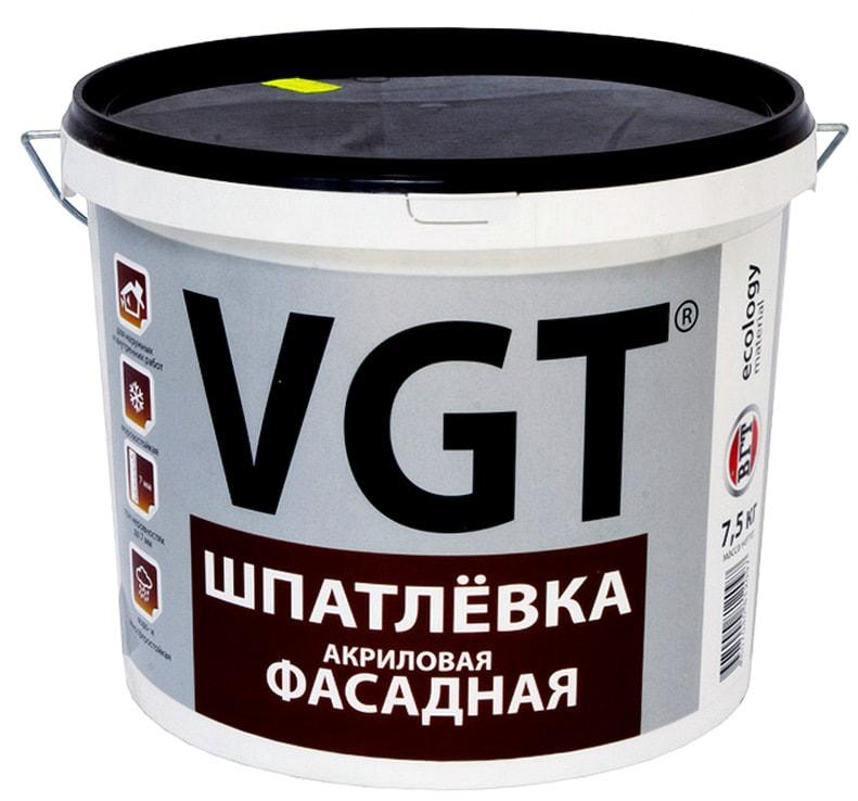 Акриловая шпаклевка VGT