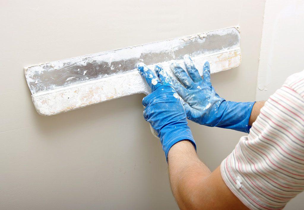 Шпаклевка стен акриловой шпаклевкой