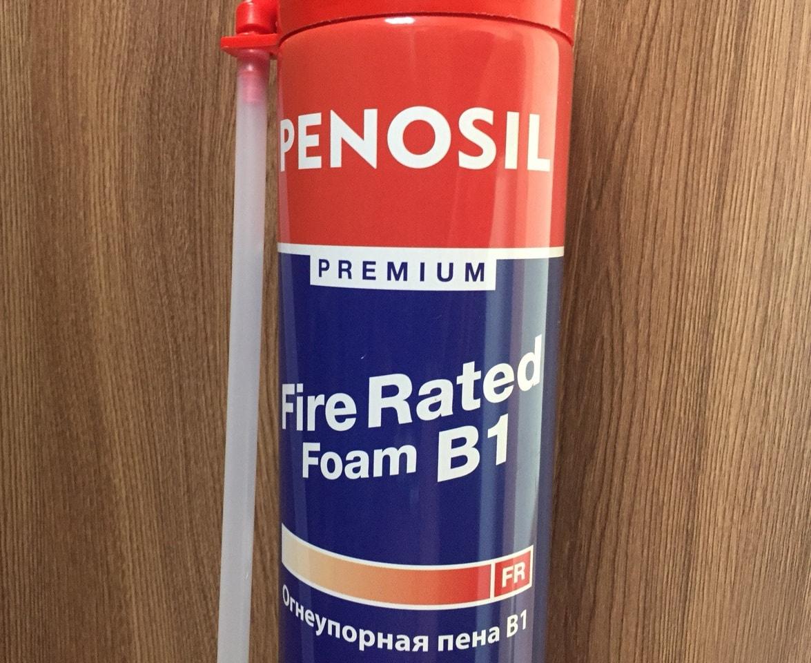 Огнестойкая монтажная пена B1