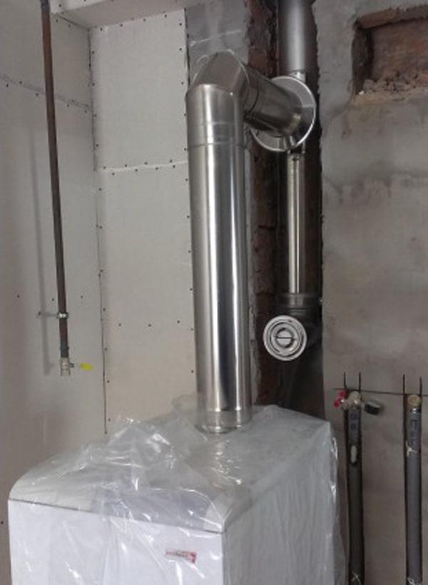 дымоход из нержавеющей стали