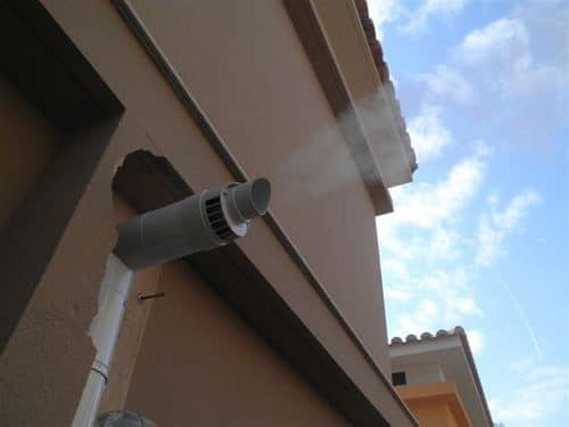 Газовый дымоход