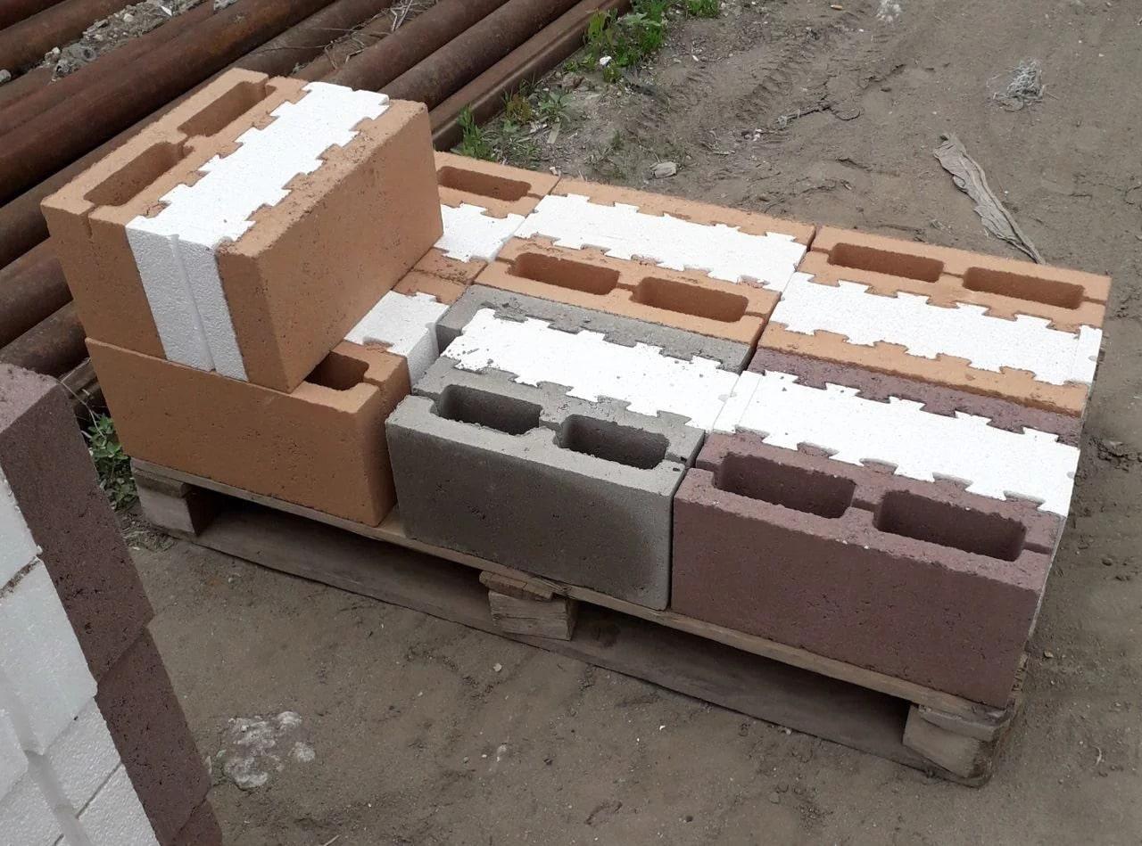 керамзитобетонные блоки для фасада