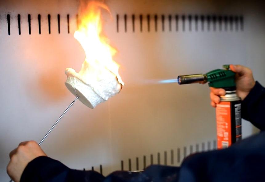 Огнестойкость пенополиуретана