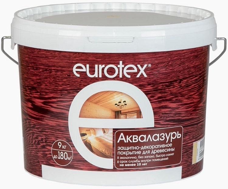 Лак на водной основе фирмы Eurotex