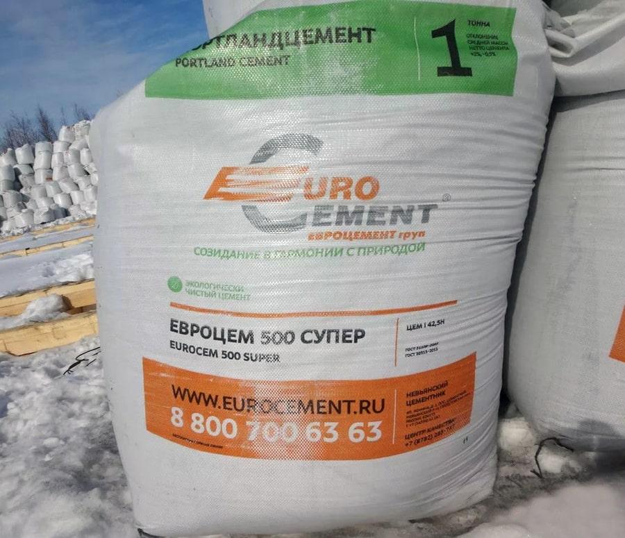 Цемент фирмы Евроцемент груп