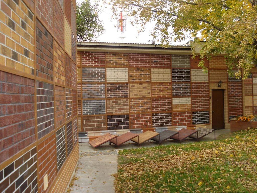 Клинкерная плитка для облицовки фасада