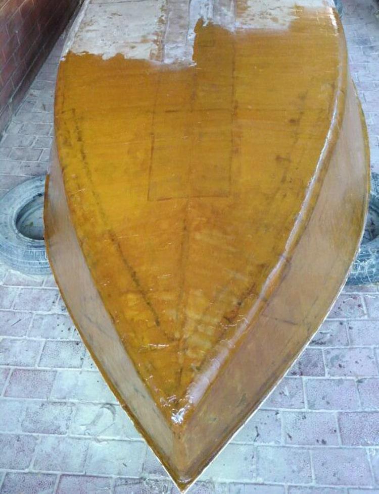 Эпоксидная смола нанесение на лодку