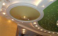 Многоуровневый натяжной потолок - неповторимый облик помещения