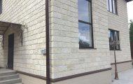 Отделка фасада камнем: популярные варианты + фото